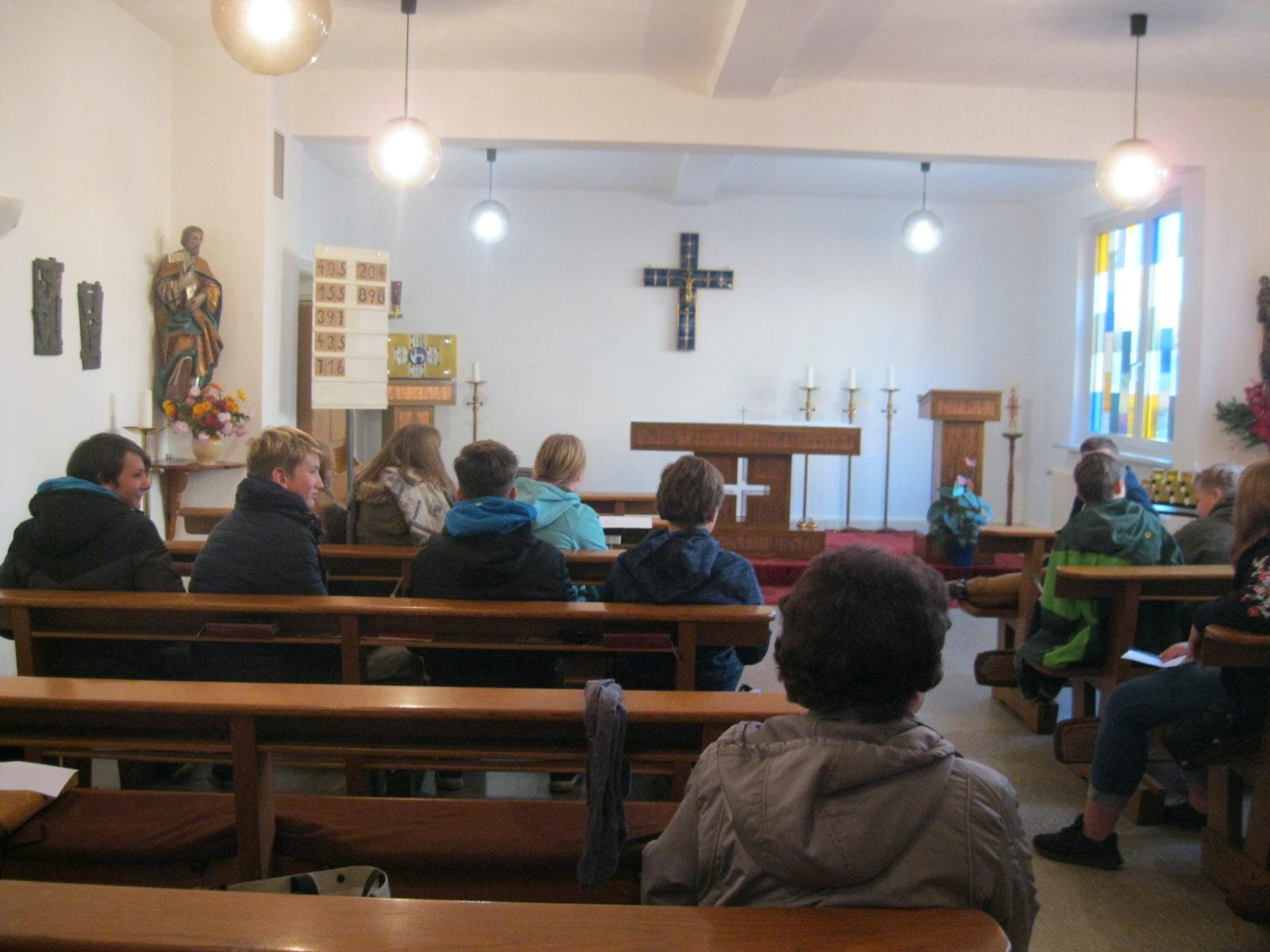 Besuch der katholischen Kirche (Kapelle) Maria Magdalena in Grbaow