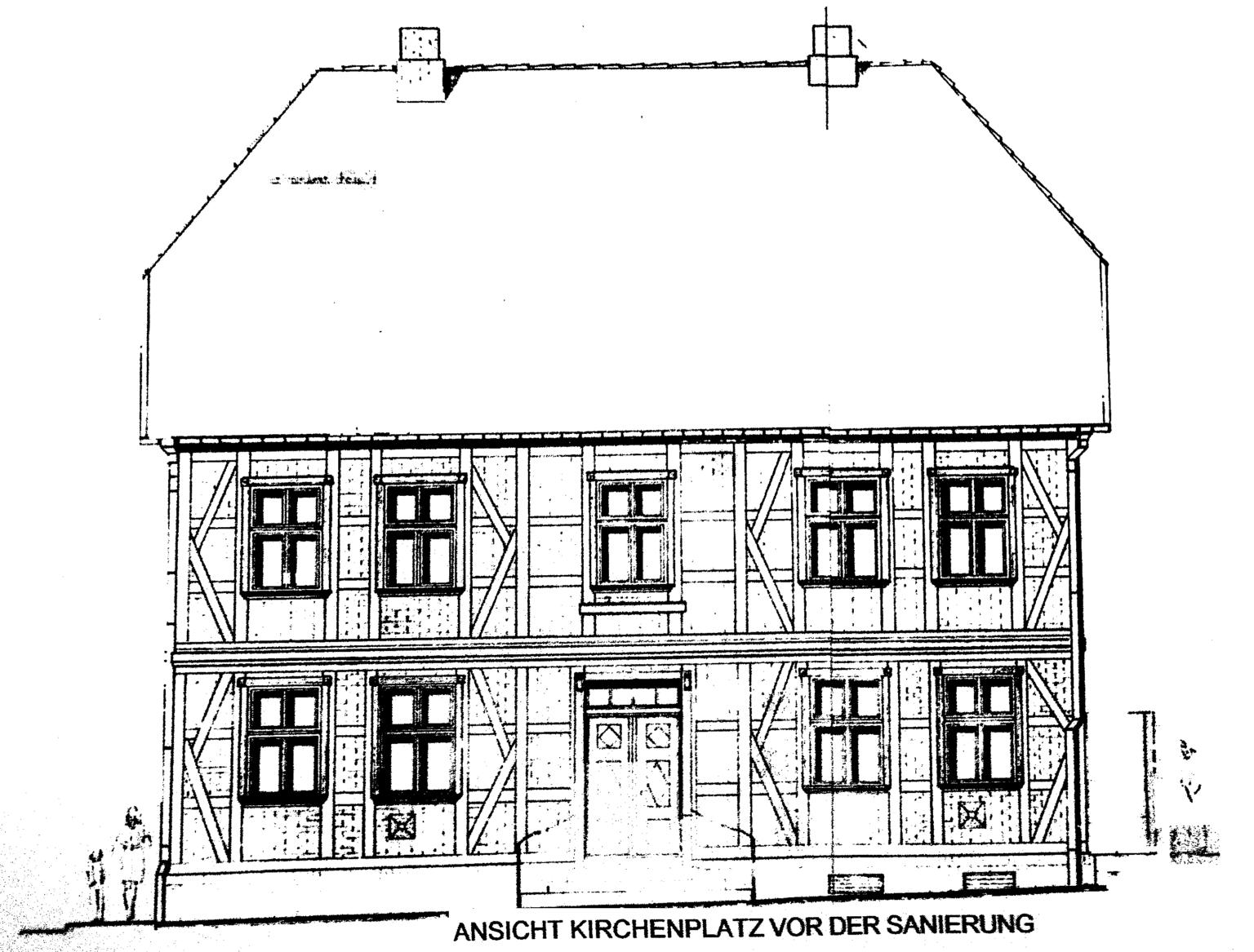 Plan - Grafik Pfarrhaus (1)
