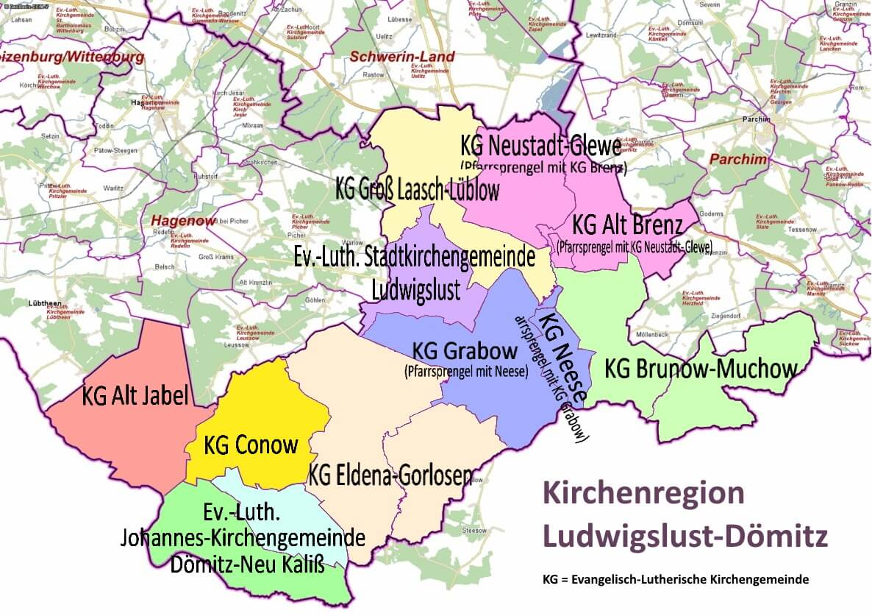 Kirchenregion Ludwigslust-Dömitz