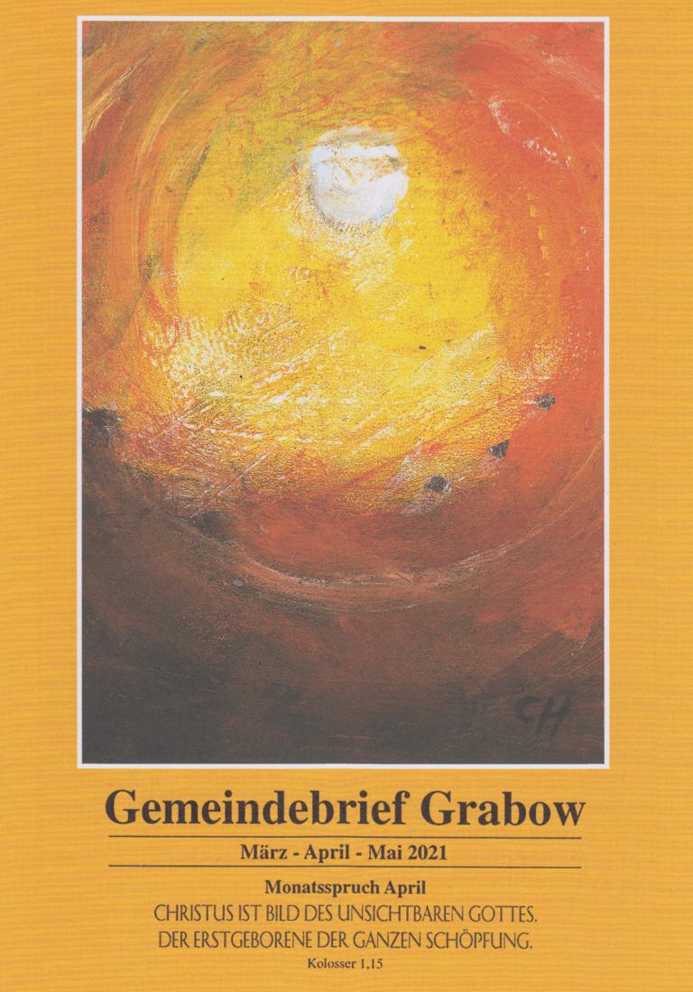 Deckblatt Gemeindebrief März - Mai 2021